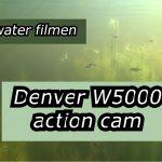 Onderwater filmen met de Denver camera